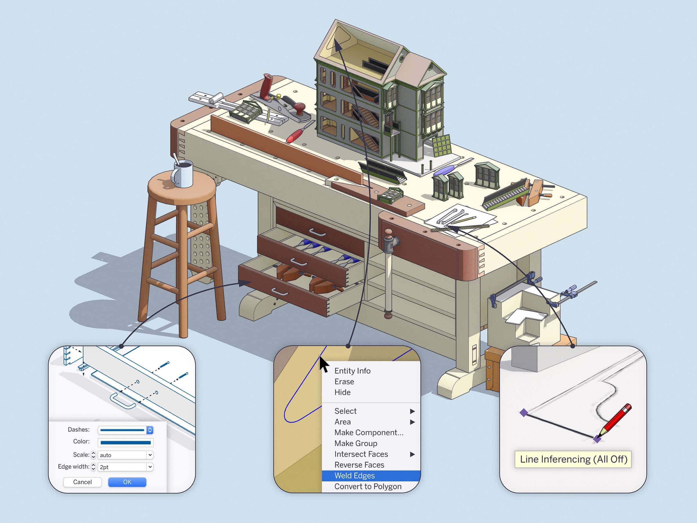 A fresh, new update for SketchUp 2020