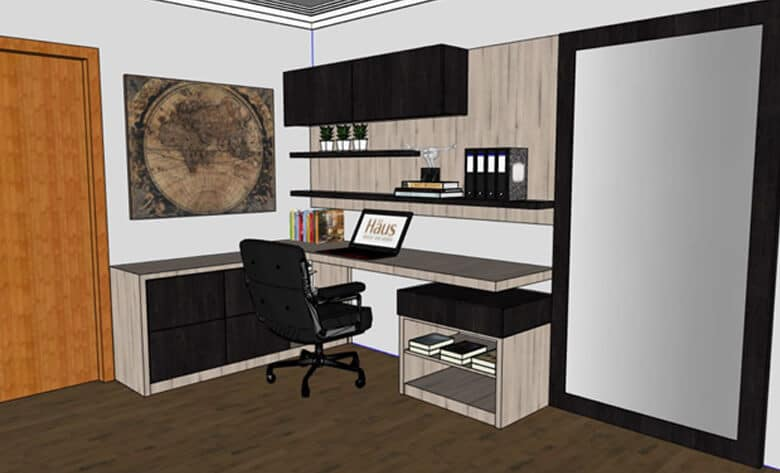 3D Warehouse, Home Office by Claudia V