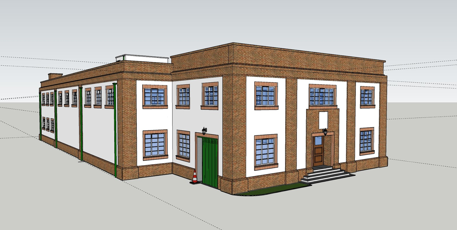 Water mill, based in Chelmsford, Essex. Project to develop a conversion of the building for a new use. Uni Project.