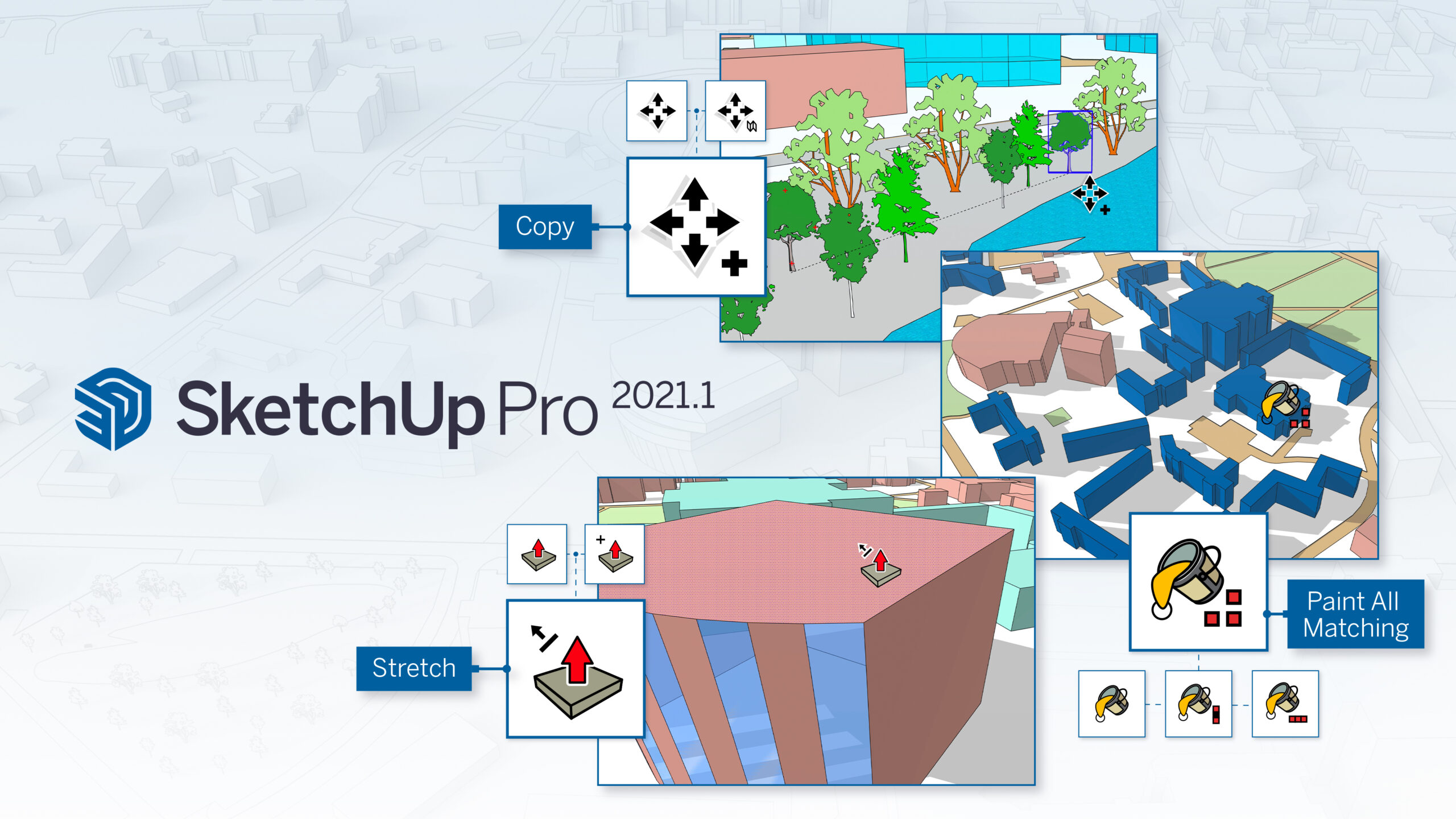 New updates in SketchUp Pro 2021.1