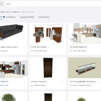 image of 3d warehouse