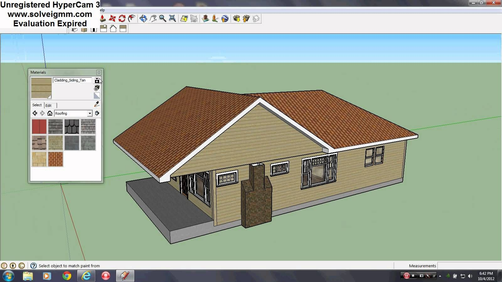 How to Make a Roof in SketchUp